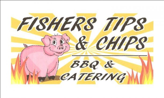 Two $25 certificates for Fisher's BBQ and Catering