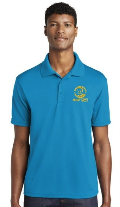 Hack with Jack Sunny Blue Golf Polo